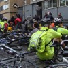 Cyclists mob Addison Lee's offices