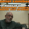 Big Smoke interview: Daniel Lambert, Socialist Party Great Britain
