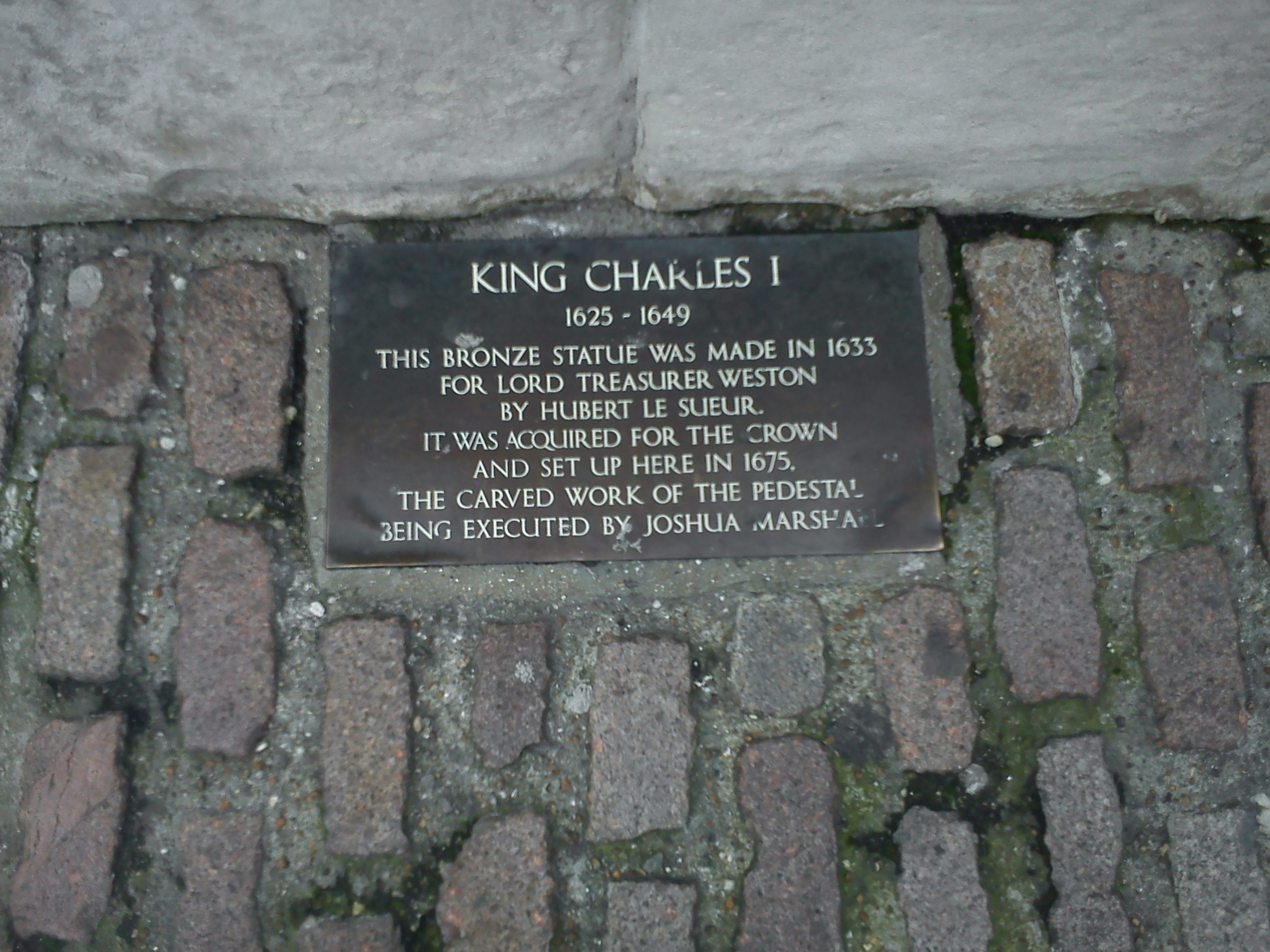 where was charles i executed